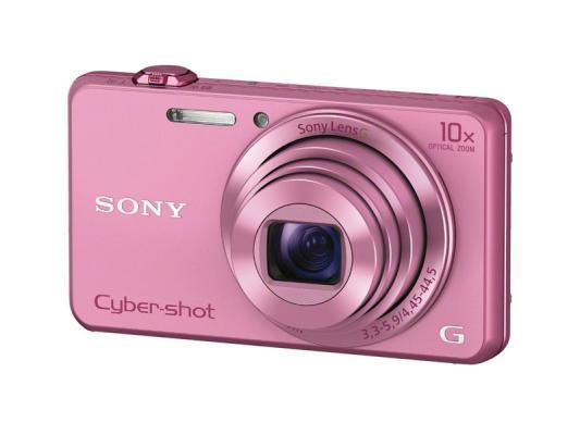 Фотоапарат Sony Cyber-Shot DSC-WX220 Pink