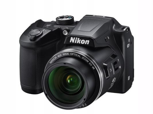 Фотоапарат Nikon Coolpix B500 Black + чанта CS-P08