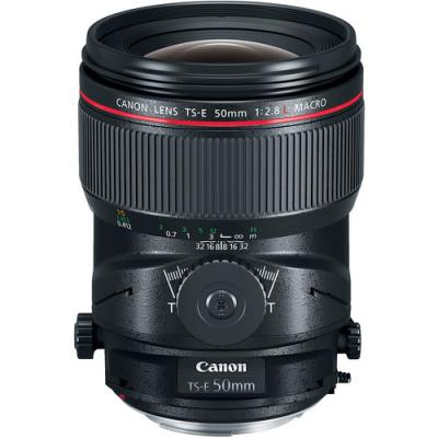 Обектив Canon TS-E 50mm f/2.8L Macro