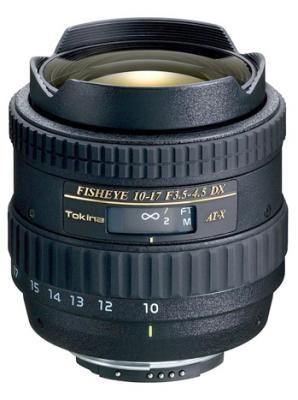 Обектив Tokina AF 10-17mm f/3.5-4.5 Fisheye за Canon