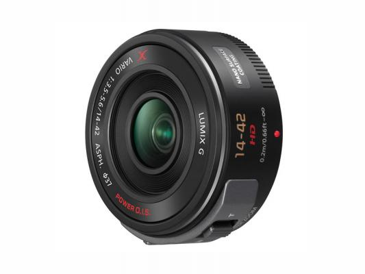 Обектив Panasonic Lumix G X VARIO PZ 14-42mm f/3.5-5.6 ASPH. POWER O.I.S. Black