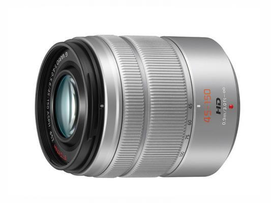 Обектив Panasonic Lumix G VARIO 45-150mm f/4-5.6 ASPH. MEGA O.I.S. Silver