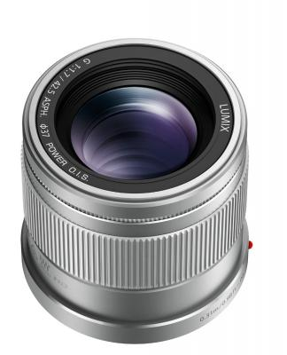 Обектив Panasonic Lumix G 42.5mm f/1.7 ASPH. /POWER O.I.S. Silver