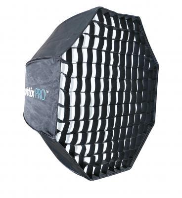 Осмоъгълен софтбокс чадър с грид Phottix Pro Easy Up 80cm