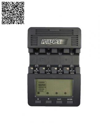 Зарядно устройство Maha/Powerex MH-C9000 + Адаптер за автомобил Maha / Powerex MHS-DCO за C9000 (12V) + Акумулаторни батерии AA Powerex Precharged  2600mAh (4бр)