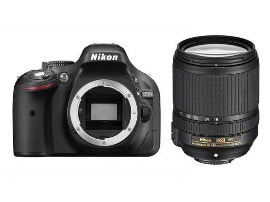 Фотоапарат Nikon D5200 Black kit (18-140mm VR)
