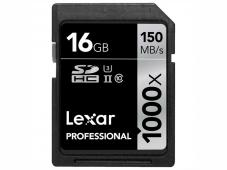 Памет SDHC Lexar Professional 1000x (150MB/s) 16GB Class 10 (U3)