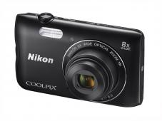 Фотоапарат Nikon Coolpix A300 Black + 8GB SD карта + Калъф Case Logic PSL-16
