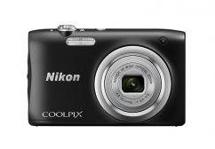Фотоапарат Nikon Coolpix A100 Black + 16GB SD карта + Калъф Case Logic PSL-16