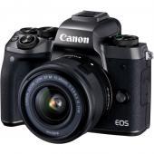 Фотоапарат Canon EOS M5 + Обектив Canon EF-M 15-45 3.5-6.3 IS STM + Памет SDHC Toshiba EXCERIA 32GB (Class 10)