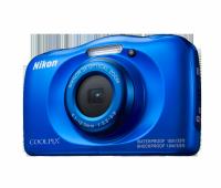 Фотоапарат Nikon Coolpix W100 Син + раница