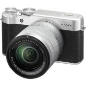 Фотоапарат Fujifilm X-A10 Silver тяло + Обектив Fujifilm Fujinon XC 16-50mm F/3.5-5.6 OIS