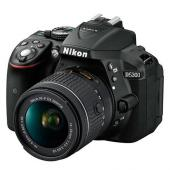 Фотоапарат Nikon D5300 Black тяло + Обектив Nikon AF-P DX Nikkor 18-55mm f/3.5-5.6G VR