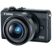 Фотоапарат Canon EOS M100 тяло + Обектив Canon EF-M 15-45mm f/3.5-6.3 IS STM Black