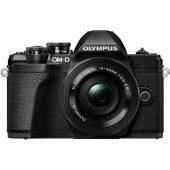Фотоапарат Olympus OM-D E-M10 Mark III Black тяло + Обектив Olympus M.Zuiko Digital ED 14-42mm f/3.5-5.6 EZ