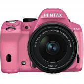 Фотоапарат Pentax K-50 Kit (DAL 18-55mm  f/3.5-5.6 WR) Розов