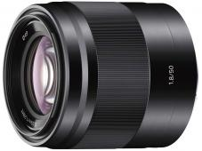 Обектив Sony E 50mm f/1.8 OSS (SEL50F18) Black