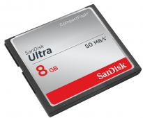 Памет CF SanDisk Ultra 8GB 333x (50MBs)