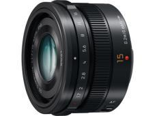 Обектив Panasonic Leica DG SUMMILUX 15mm f/1.7 Black