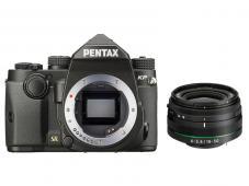 Фотоапарат Pentax K-P Black тяло + Обектив Pentax HD PENTAX DA 18-50mm f/4.0-5.6 DC WR RE
