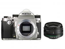 Фотоапарат Pentax K-P Silver тяло + Обектив Pentax HD PENTAX DA 18-50mm f/4.0-5.6 DC WR RE