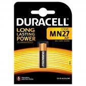 Алкална батерия Duracell MN27 A27 (12V) - 1бр.