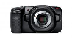 Компактна дигитална камера Blackmagic Pocket Cinema Camera 4K + две допълнителни батерии Hahnel Li-Ion Extreme HLX-E6N