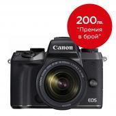 Фотоапарат Canon EOS M5 + Обектив Canon EF-M 18-150 3.5-6.3 IS STM + Батерия Li-Ion Canon LP-E17