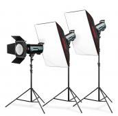 Комплект студийно осветление Expert QS II 1500 Studio