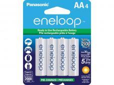 Акумулаторни батерии AA Panasonic Eneloop 1900mAh (LR06) 4бр