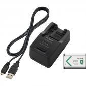 Комплект зарядно устройство и батерия Sony ACC-TRBX