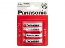 Усилени алкални батерии AA Panasonic Special Power (LR06) 4бр