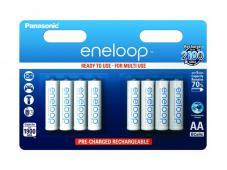 Акумулаторни батерии AA Panasonic Eneloop 1900mAh (LR06) 8бр