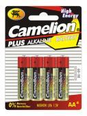 Алкални Батерии AA Camelion Plus (LR06) 4бр
