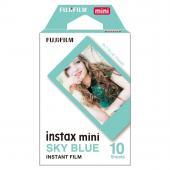 Моментален филм Fuji Instax mini Sky Blue frame (10л.)