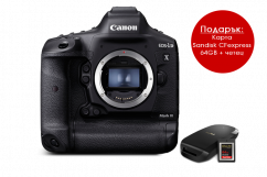 Фотоапарат Canon EOS 1Dx Mark III + 64GB CFexpress карта и четец + Памет SanDisk Extreme Pro CFexpress 64GB R:1500/W:800 MB/s SDCFE-064G-GN4IN