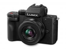 Фотоапарат Panasonic Lumix DC-G100 + Обектив Lumix G-VARIO 12-32mm f/3.5-5.6 ASPH. MEGA O.I.S. + Ръкохватка Panasonic DMW-SHGR1