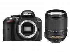 Фотоапарат Nikon D5300 Black тяло + Обектив Nikon AF-S DX Nikkor 18-140mm f/3.5-5.6G ED VR