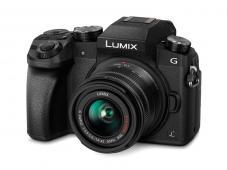 Фотоапарат Panasonic Lumix G7 Black + обектив Panasonic 14-42mm f/3.5-5.6 II MEGA OIS