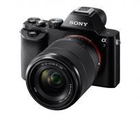 Фотоапарат Sony Alpha A7 Kit (FE 28-70mm f/3.5-5.6 OSS) + Обектив Sony FE 50mm f/1.8