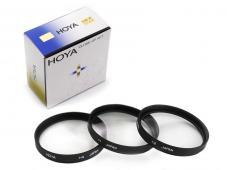 Комплект макро лещи Hoya +1, +2, +4D 55mm