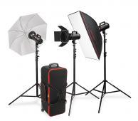 CraftLine GS-900 Travel - комплект студийно осветление