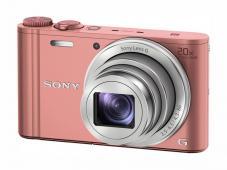 Фотоапарат Sony Cyber-Shot DSC-WX350 Pink