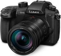 Фотоапарат Panasonic GH5 тяло + Обектив LEICA DG VARIO-ELMARIT 12-60mm f/2.8-4.0 ASPH. POWER O.I.S. + Батерия Panasonic DMW-BLF19E