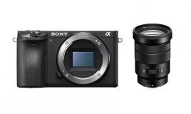 Фотоапарат Sony Alpha A6500 тяло + Обектив Sony E PZ 18-105mm f/4 G OSS