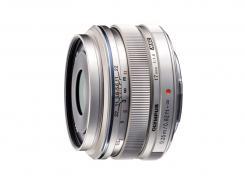 Обектив Olympus M.Zuiko Digital 17mm f/1.8 MSC Silver