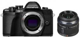 Фотоапарат Olympus OM-D E-M10 Mark III Black тяло + Обектив Olympus M.Zuiko Digital 14-42mm f/3.5-5.6 II R