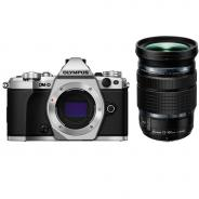 Фотоапарат Olympus OM-D E-M5 Mark II Silver тяло + Обектив Olympus M.Zuiko Digital ED 12-100mm f/4 IS PRO