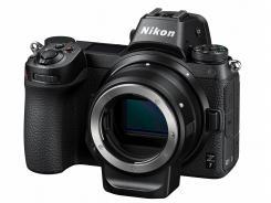 Фотоапарат Nikon Z7 тяло + преходник Nikon FTZ