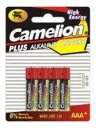 Алкални батерии AAA Camelion Plus (LR03) 4бр